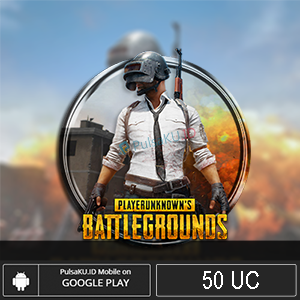Games Moba PUBG Mobile - 50 UC