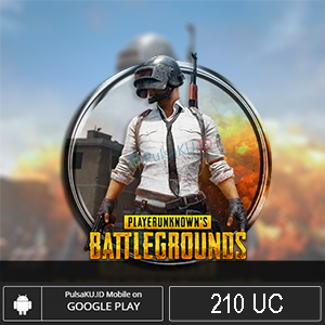 Games Moba PUBG Mobile - 210 UC