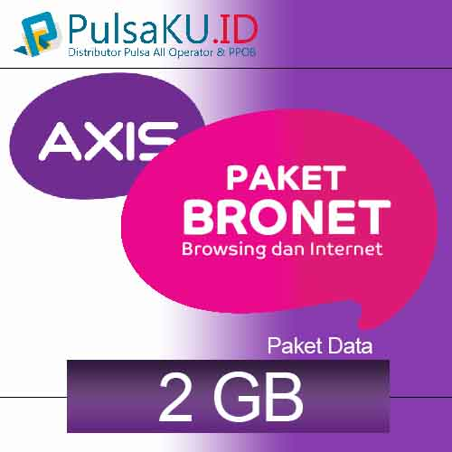 Paket Internet AXIS - Bronet 2GB 30Hari