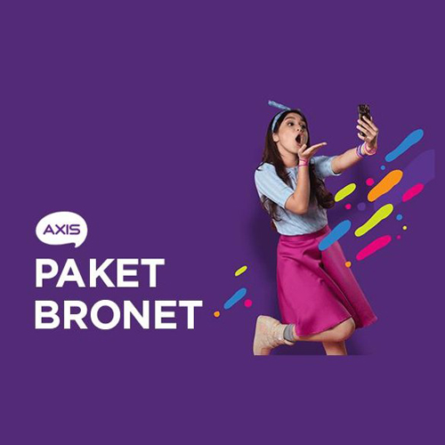 Paket Internet AXIS - Bronet 3GB 30Hari