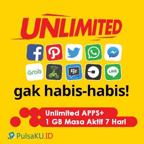 Paket Internet Indosat - Unlimited 15.000