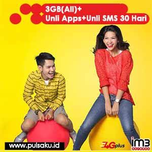 Paket Internet Indosat - Paket Data 50.000