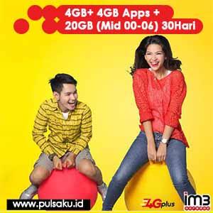 Paket Internet Indosat - Paket Data 60.000