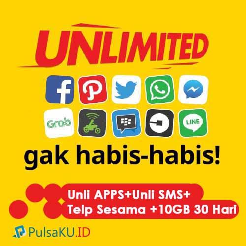 Paket Internet Indosat - Unlimited 90.000