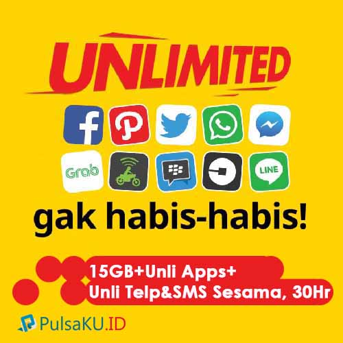 Paket Internet Indosat - Unlimited 115.000