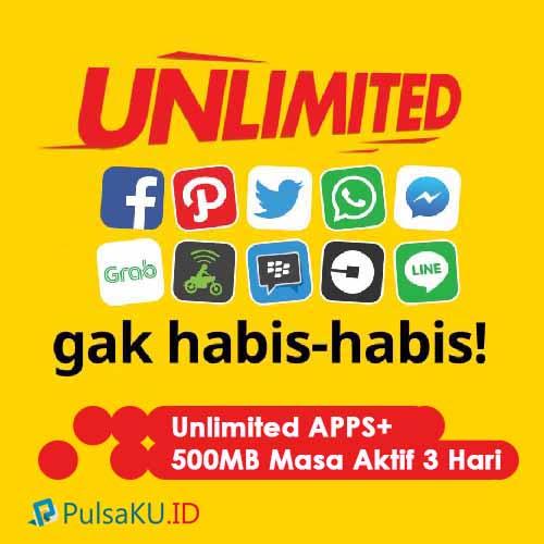 Paket Internet Indosat - Unlimited 5.000