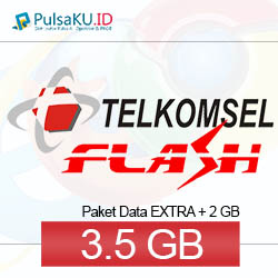 Paket Internet Telkomsel - Data Flash 100.000