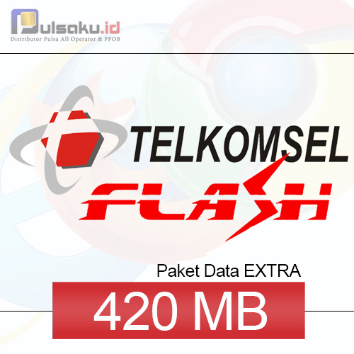 Paket Internet Telkomsel - Data Flash 20.000