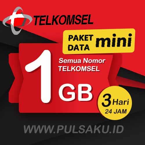 Paket Internet Telkomsel - Paket Data Mini 1GB