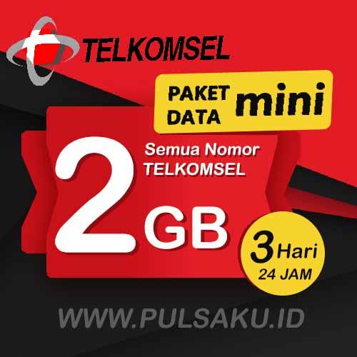 Paket Internet Telkomsel - Paket Data Mini 2GB