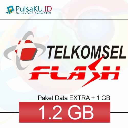 Paket Internet Telkomsel - Data Flash 50.000