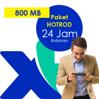 Paket Internet XL - HOTROD  800MB