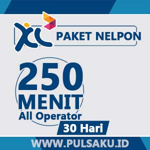 Paket Telpon XL - 250Mnt All Opt 30Hr