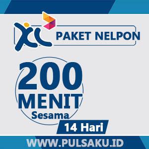Paket Telpon XL - 200Mnt Sesama + 14hari