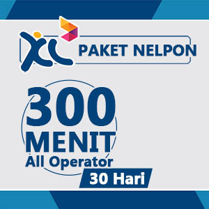 Paket Telpon XL - 300Mnt All 30Hr