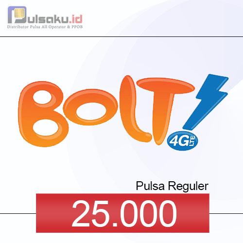 Pulsa Reguler BOLT - 25.000