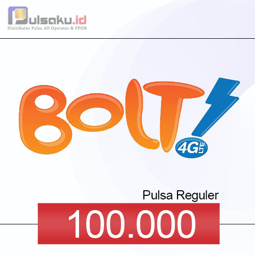 Pulsa Reguler BOLT - 100.000