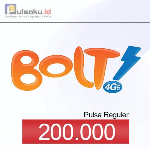 Pulsa Reguler BOLT - 200.000
