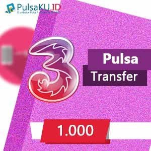 Pulsa Transfer THREE Transfer - 1.000