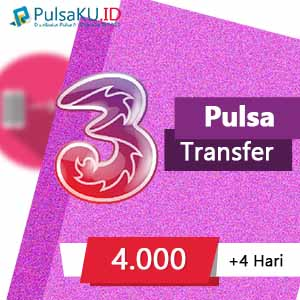 Pulsa Transfer THREE Transfer - 4.000