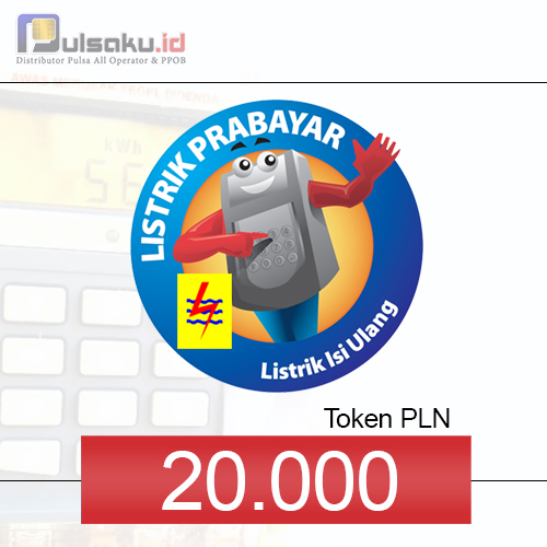 Token PLN PLN Prabayar - 20.000