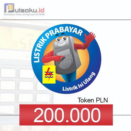 Token PLN PLN Prabayar - 200.000