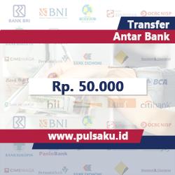 Transfer Dana ANTAR BANK - Transfer 50.000