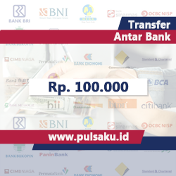 Transfer Dana ANTAR BANK - Transfer 100.000