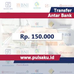 Transfer Dana ANTAR BANK - Transfer 150.000