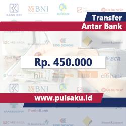 Transfer Dana ANTAR BANK - Transfer 450.000