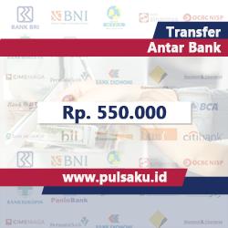 Transfer Dana ANTAR BANK - Transfer 550.000