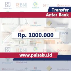 Transfer Dana ANTAR BANK - Transfer1000.000