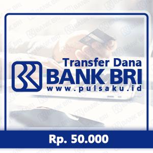 Transfer Dana KE BANK BRI - Transfer Bank BRI 50rb