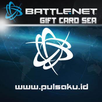 Voucher Game GAME BATTLENET SEA - Battlenet Gift Card SEA