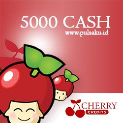 Voucher Game GAME CHERRY CREDIT - Cherry Credits 5000 Cash