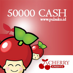 Voucher Game GAME CHERRY CREDIT - Cherry Credits 50000 Cash
