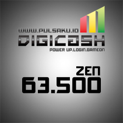 Voucher Game GAME DIGICASH - DigiCash 63500 Zen