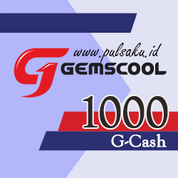 Voucher Game GAME GEMSCOOL - Gemscool 1,000 G-cash