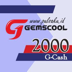 Voucher Game GAME GEMSCOOL - Gemscool 2,000 G-cash