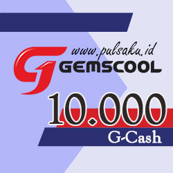 Voucher Game GAME GEMSCOOL - Gemscool 10,000 G-cash