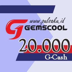 Voucher Game GAME GEMSCOOL - Gemscool 20,000 G-cash