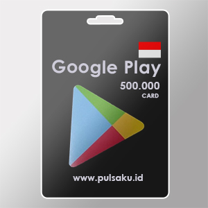 Voucher Game GAME GOOGLE CARD ID - Google Play ID 500rb