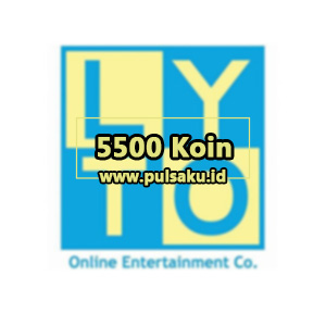 Voucher Game GAME LYTO GAME-ON - 5500 Koin