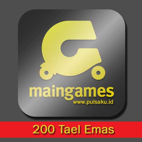 Voucher Game GAME MAINGAMES - 200 Tael Emas