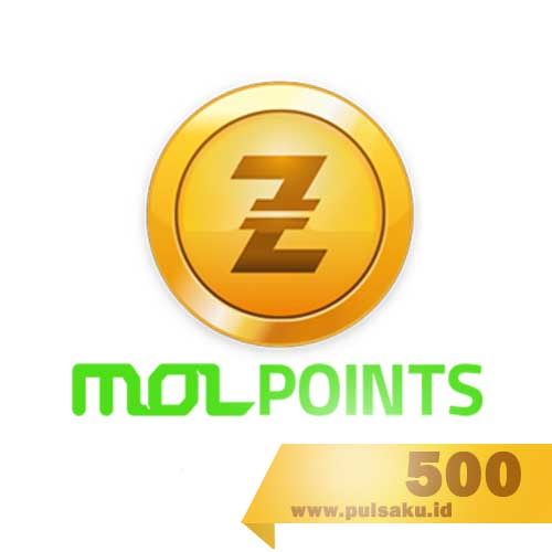 Voucher Game GAME MOLPOINT - 500 MOL Point