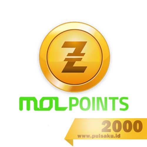 Voucher Game GAME MOLPOINT - 2000 MOL Point