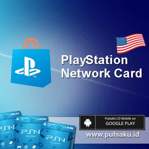 Voucher Game GAME PSN US - PlayStation 50$ US Card
