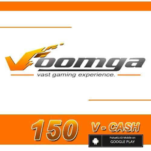 Voucher Game GAME VOOMGA GAMEWAVE - 150 V-Cash