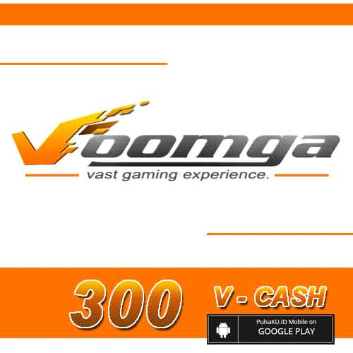 Voucher Game GAME VOOMGA GAMEWAVE - 300 V-Cash