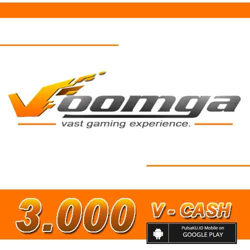 Voucher Game GAME VOOMGA GAMEWAVE - 3.000 V-Cash